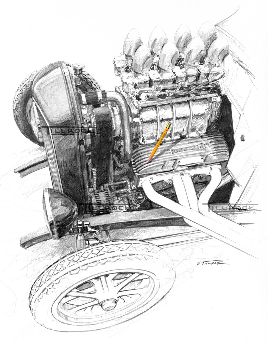 "Image of ""Super Charged Model A"""