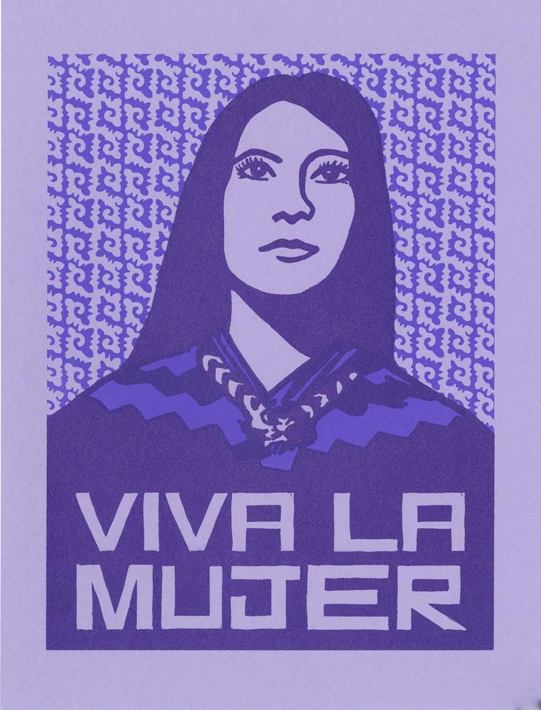 Image of Viva La Mujer print (Small 2016, 2017)