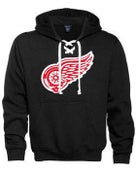 Image of Black Grateful Wings Hockey Hoodie