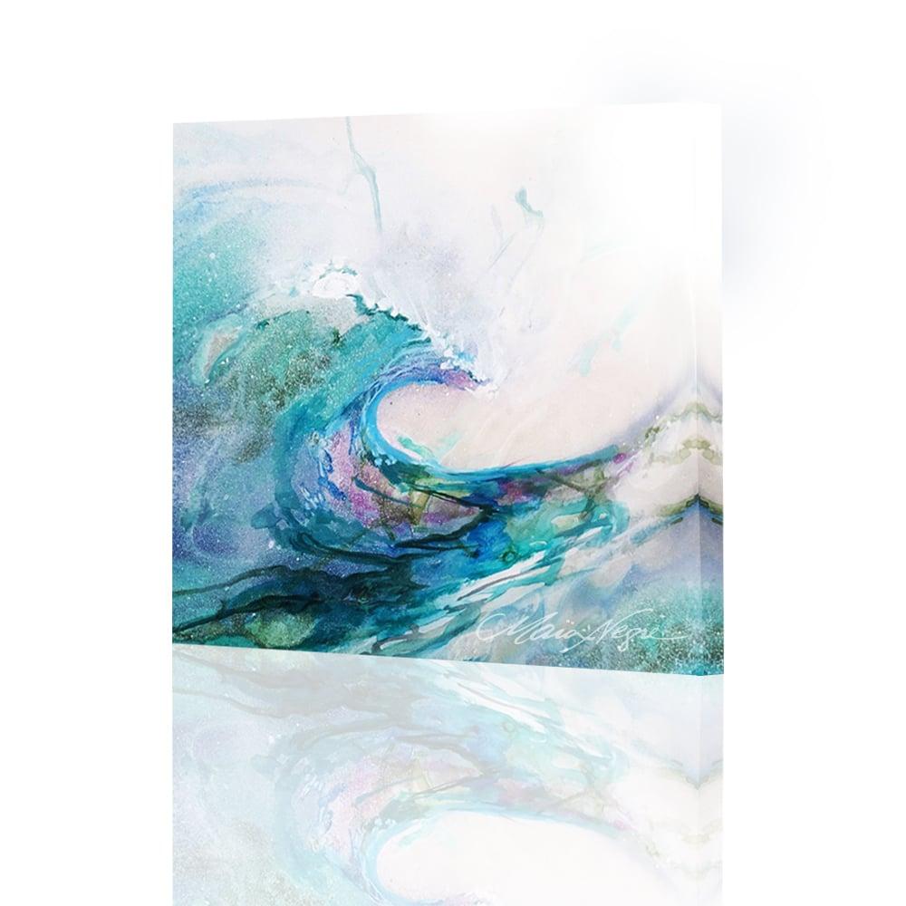 Image of Aquaspray Mini Giclee Print