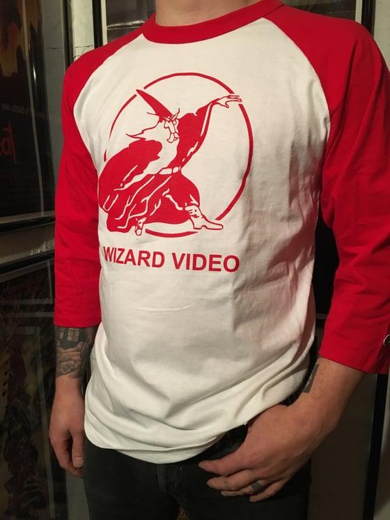Image of Wizard Baseball Shirt