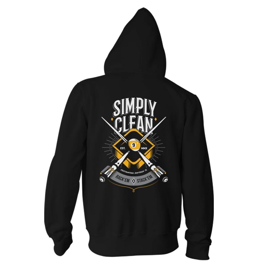 """Image of Unisex """"Simply Clean 9"""" Zip Hoodie"""