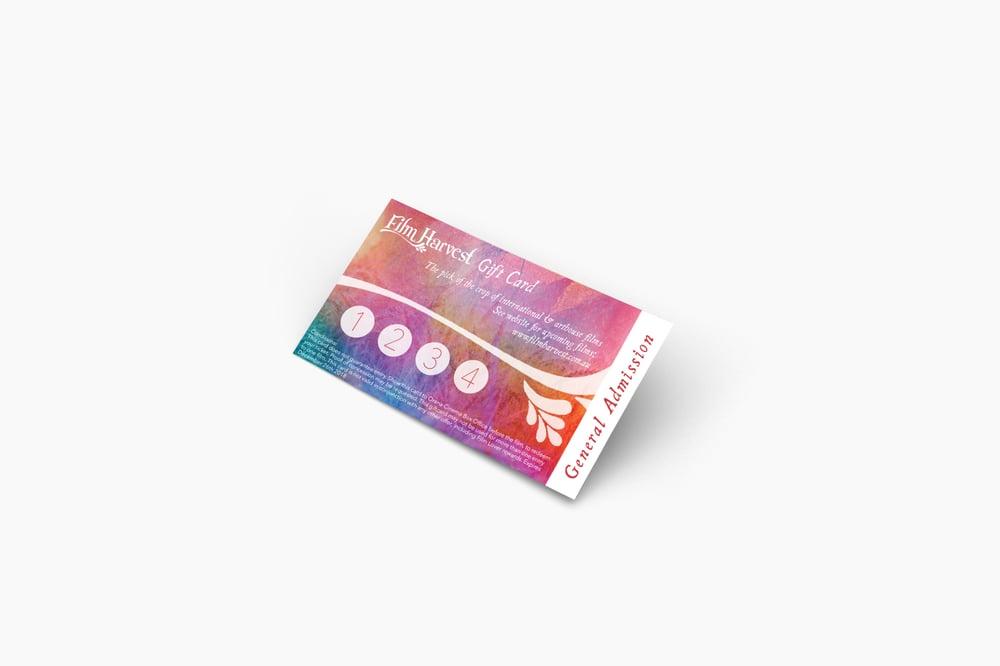 Image of Film Harvest Gift Card (General Admission)
