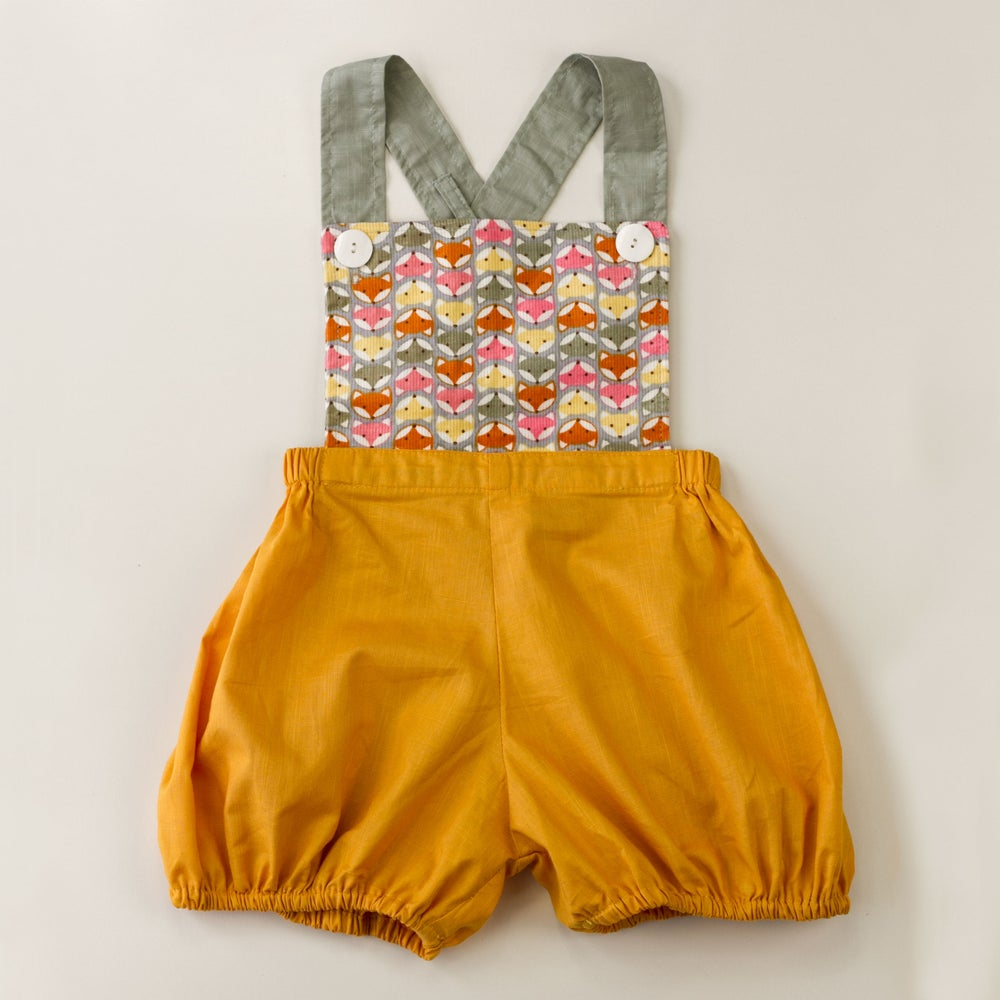 Image of Vintage Clancy Romper - Foxes