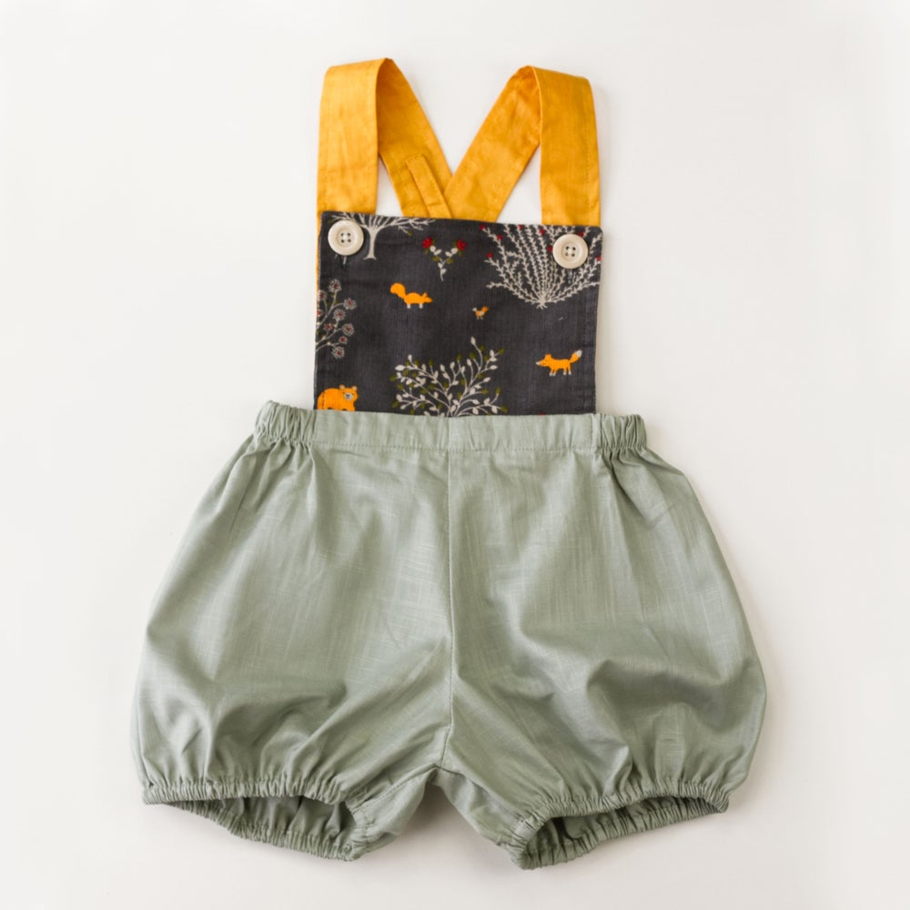 Image of Vintage Clancy Romper - Forest Tales