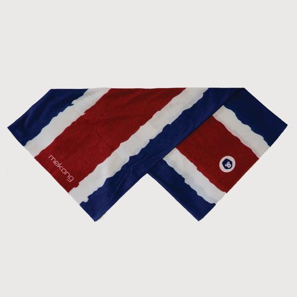 Clásico Tech Band - Blue/Red - mekong