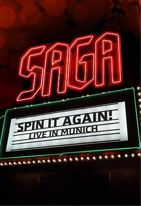 Image of SAGA - Spin It Again - Live In Munich - Édition DVD