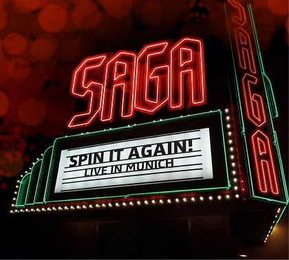 Image of SAGA - Spin It Again - Live in Munich - 2CD Digi-pak