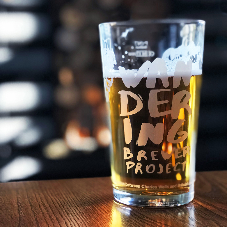 Image of Wandering Brewer Project Pint Glass