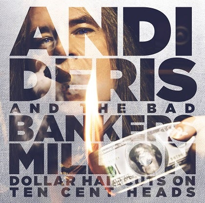 Image of ANDI DERIS - Million Dollar Haircuts On Ten Cent Heads - Edition CD Jewelcase