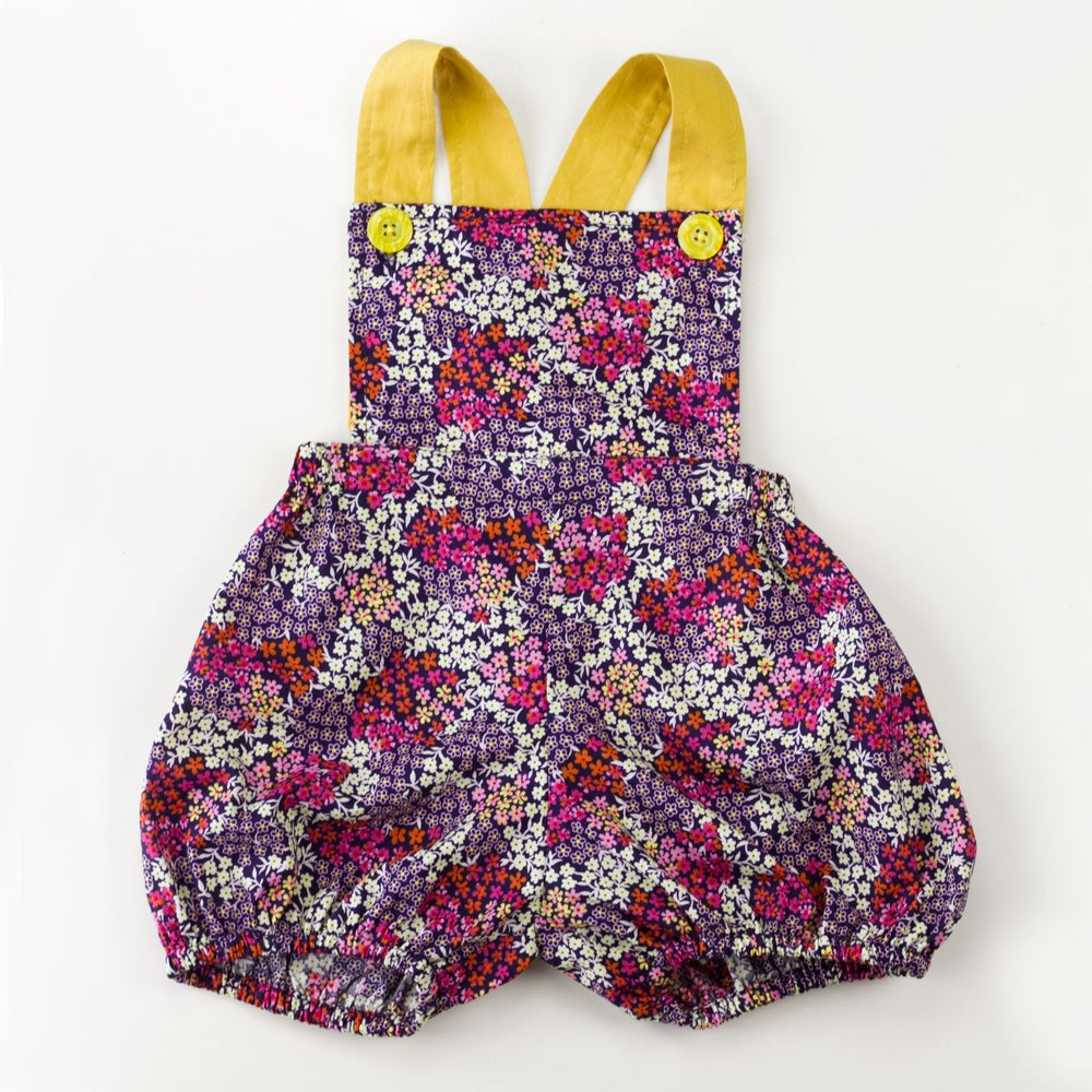 Image of Vintage Clancy Romper - Wildflowers