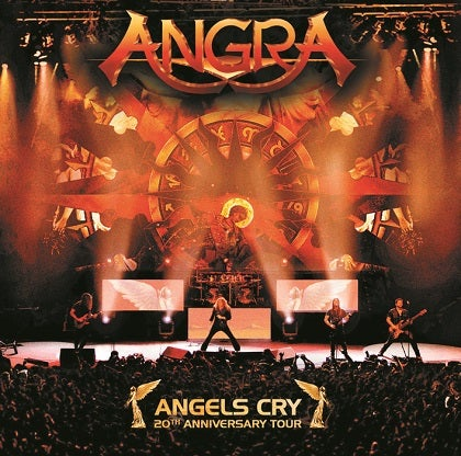 Image of ANGRA - Angels Cry (20th Anniversary Tour) - Edition 2CD