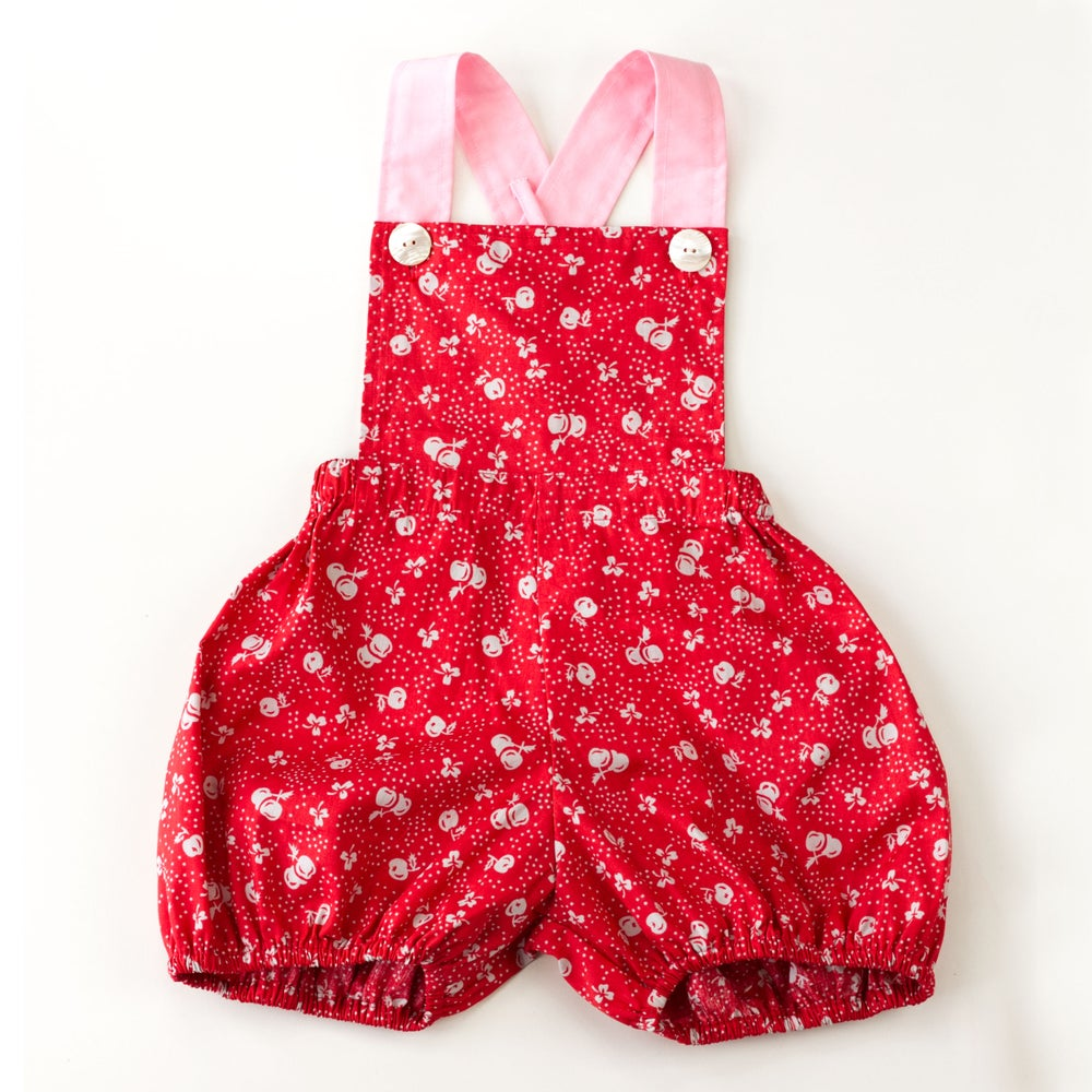 Image of Vintage Clancy Romper - Rouge