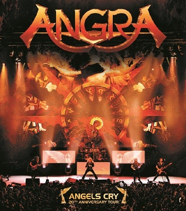 Image of ANGRA - Angels Cry (20th Anniversary Tour) - Édition Blu-Ray