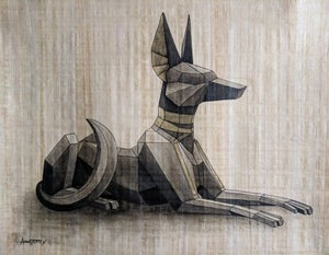 Image of 'Neb-Ta-Djeser' original painting