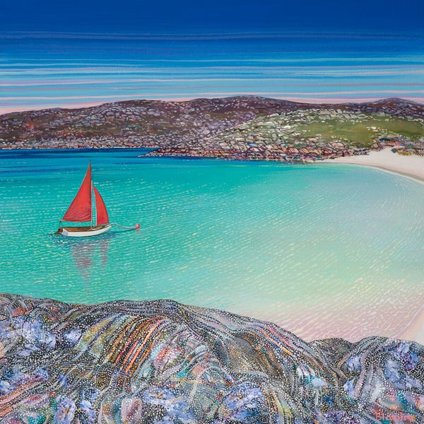 Image of ACHMELVICH SAILING PRINT