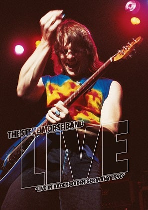 Image of THE STEVE MORSE BAND - Live In Baden-Baden, Germany 1990 - DVD