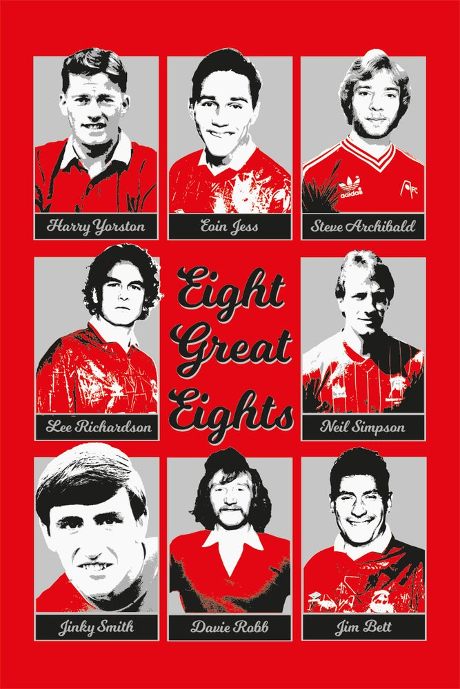 Image of Ltd Ed Print: Aberdeen FC - Eight Great Eights