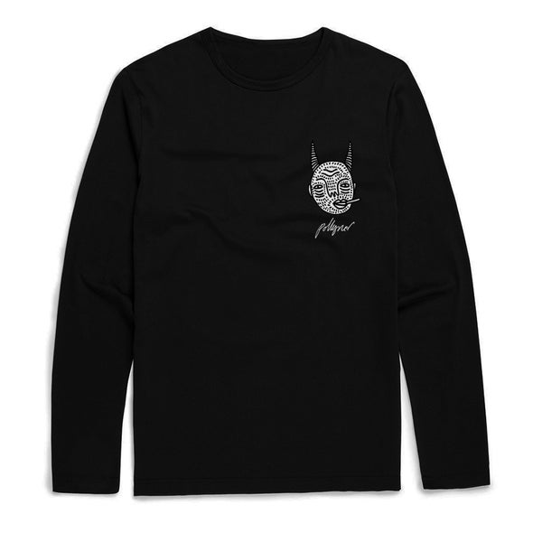 Image of CBA - UNISEX LONG SLEEVE TOP WITH BACK DESIGN By Polly Nor
