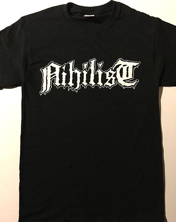 "Image of Nihilist "" Logo "" T shirt"
