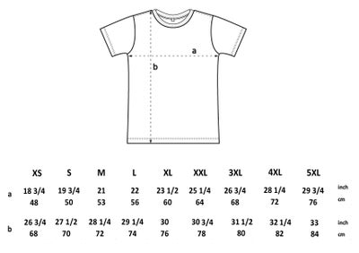Image of CBA - Black and white - Unisex T with back design - By Polly Nor