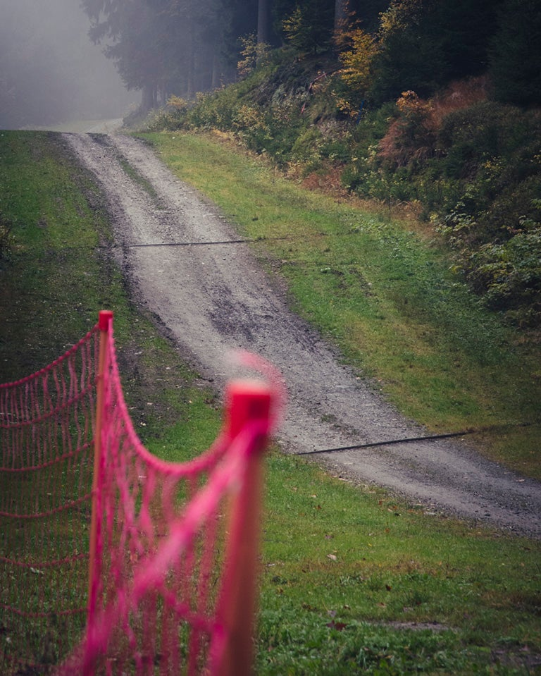 Image of Pink fence