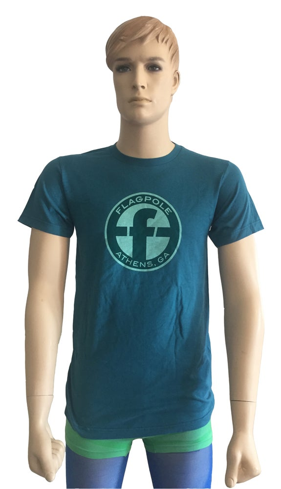 Image of Flagpole T-Shirt (Teal)
