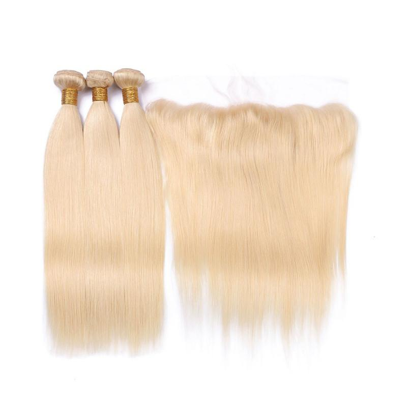 Image of LUXE 613 RUSSIAN BLONDE BUNDLES + FRONTAL DEAL