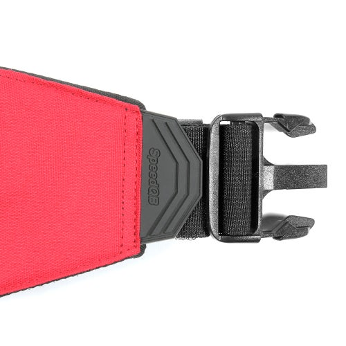 Image of SpeedQB Molle-Cule™ Belt System (MBS) - Red