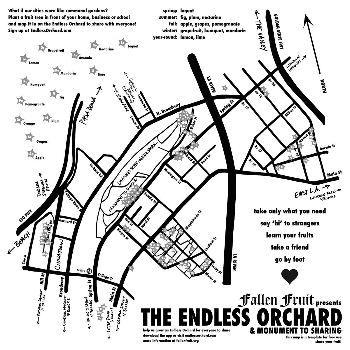Image of Endless Orchard Bandana