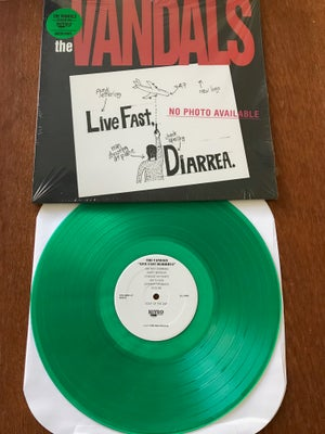 Image of The Vandals - Live Fast, Diarrea - Green Vinyl , Promo'd & Sealed
