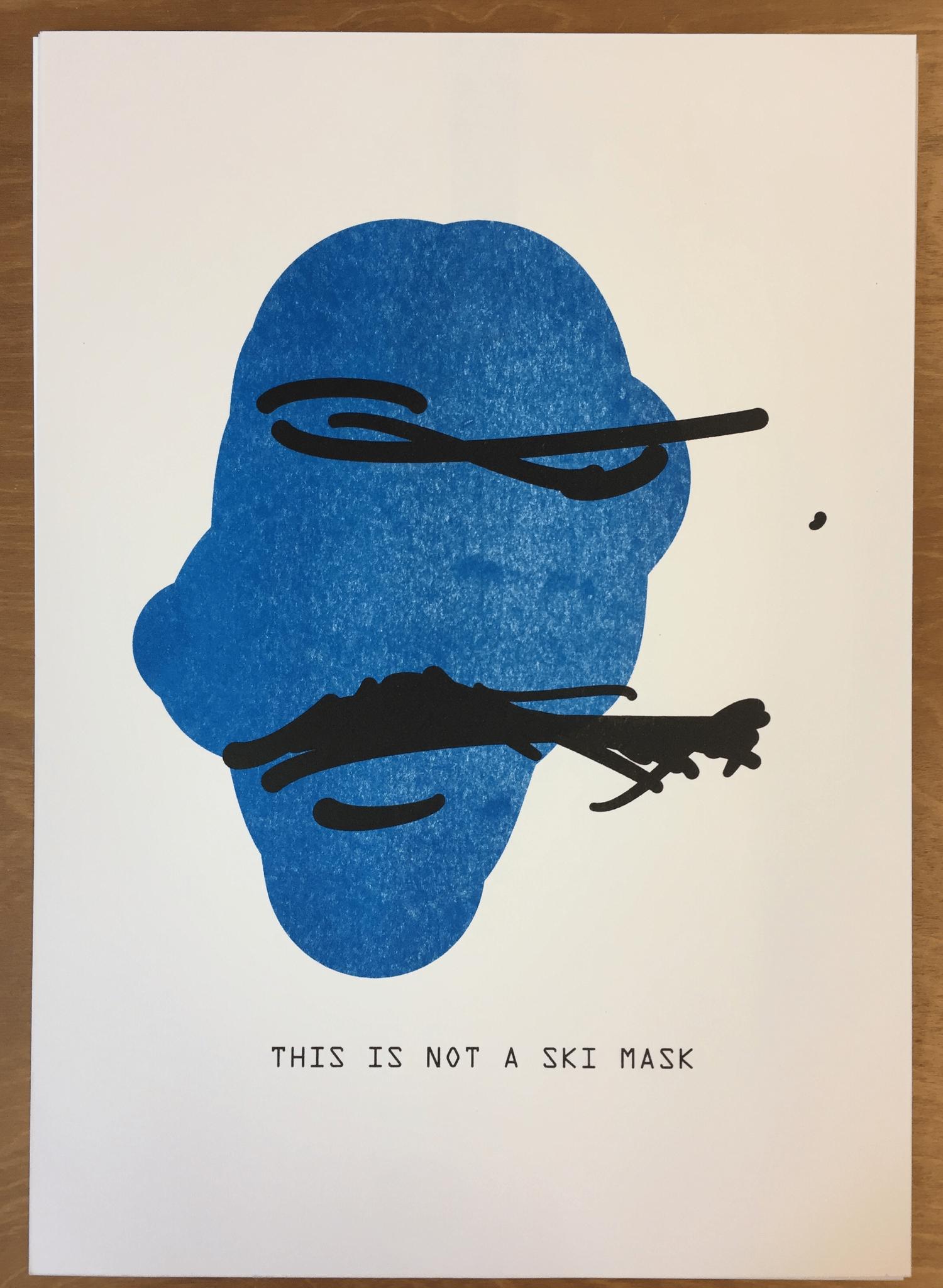 Image of The Treachery of ImageNet: Ski Mask