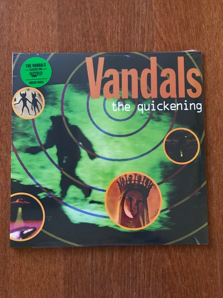 Image of The Vandals - The Quickening - Green Vinyl , Promo'd & Sealed