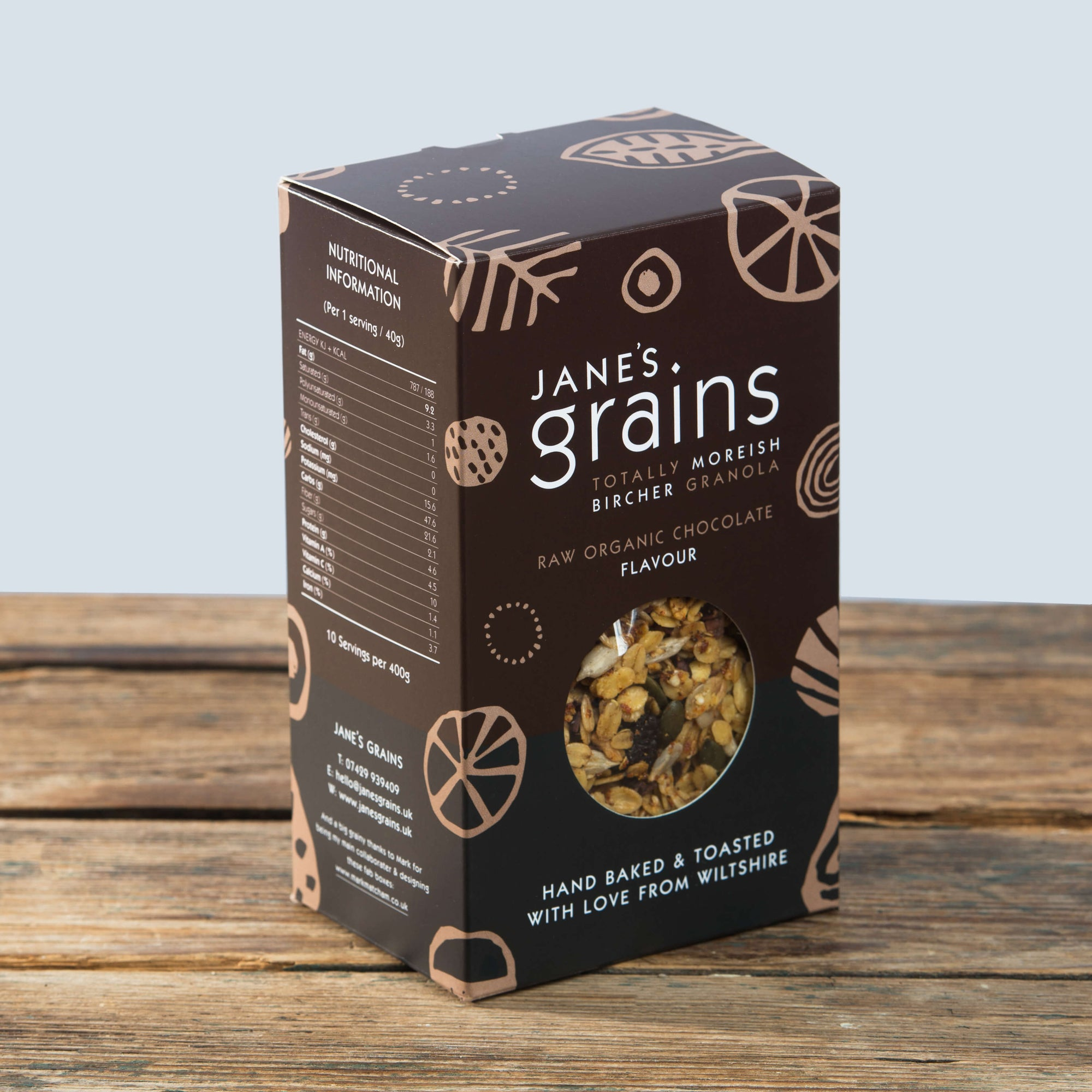 Image of Raw Organic Chocolate<br><span>—</span><b>400g Box £5 / 1kg Pouch £10</b>