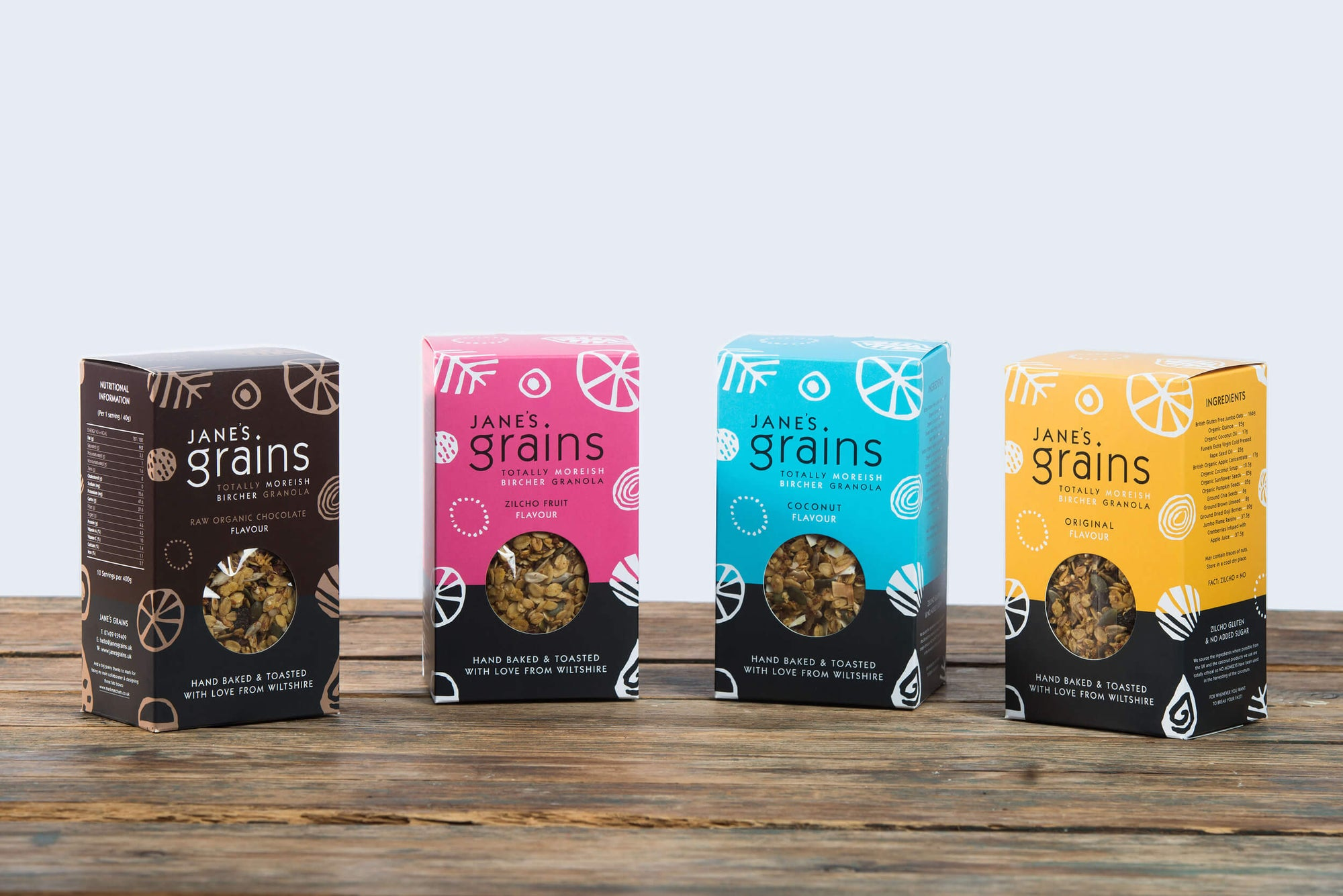 Image of All 4 flavours<span>—</span>£18
