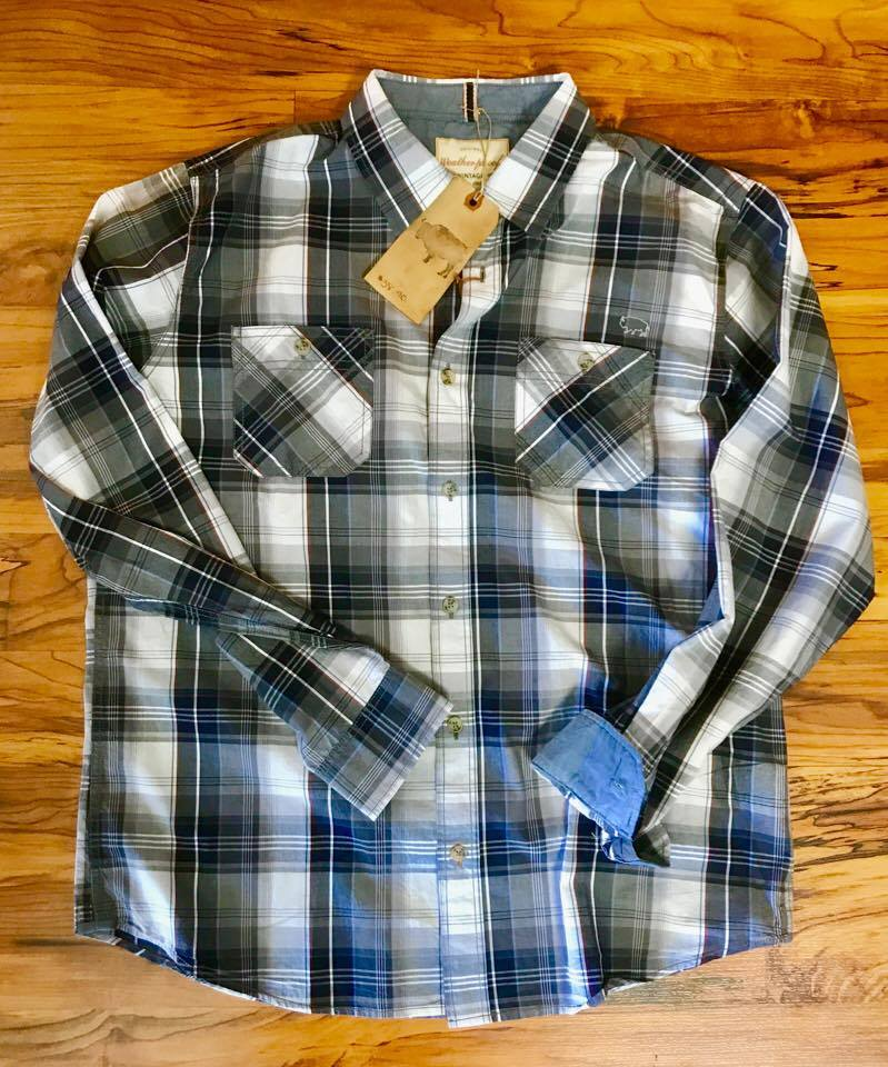 Image of Bison Vintage Plaid Shirt