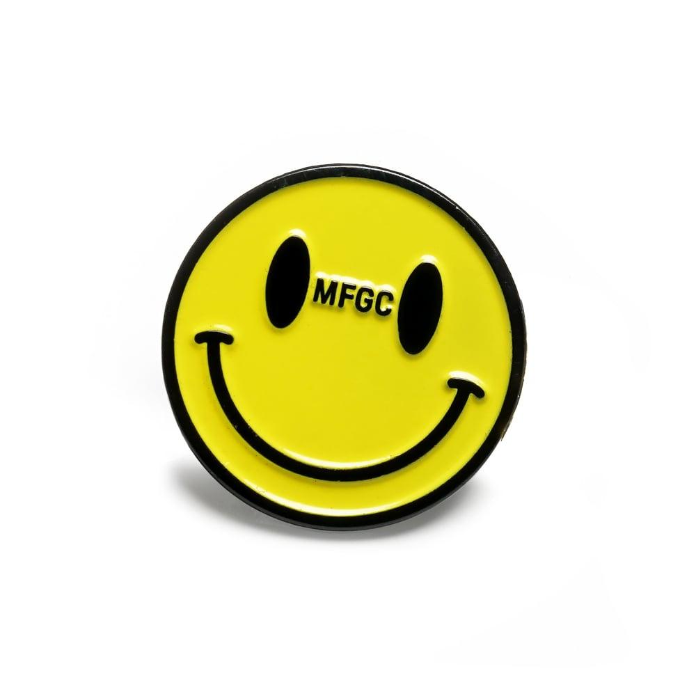 Image of OMFGCO Smile Enamel Pin