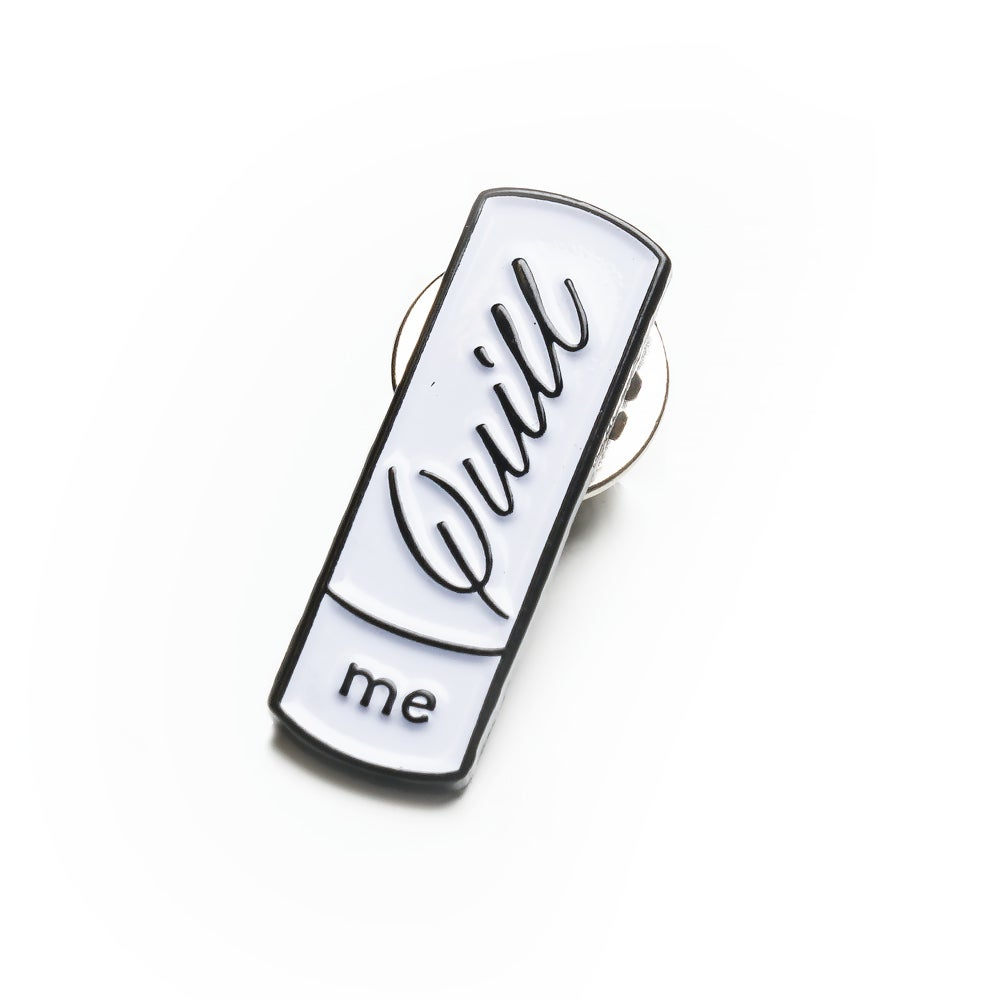 Image of Quill Me Enamel Pin