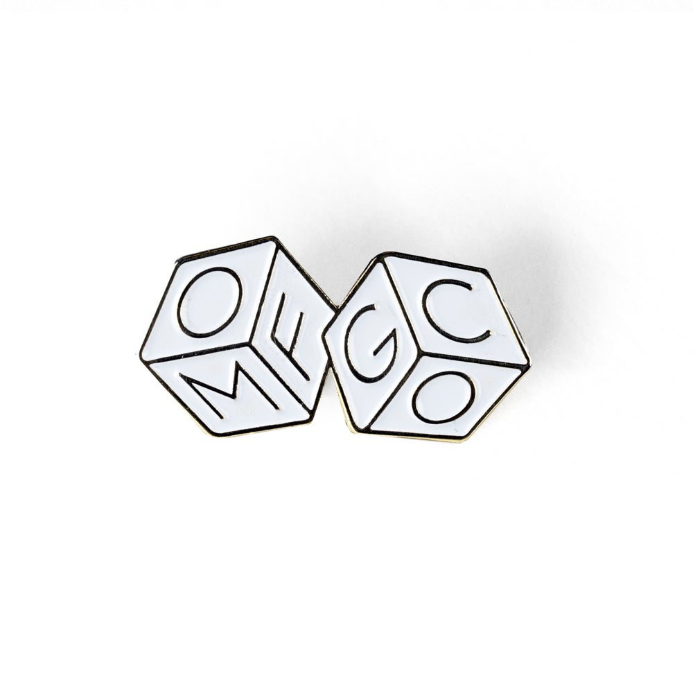 Image of OMFGCO Dice Enamel Pin