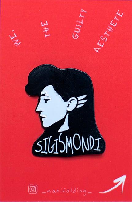 Image of Floria Sigismondi Enamel Pin