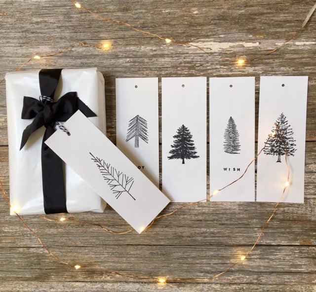 Image of Various Christmas Gift Tag Sets
