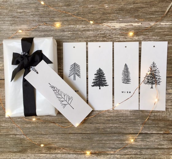 Image of Various Christmas Gift Tag Sets