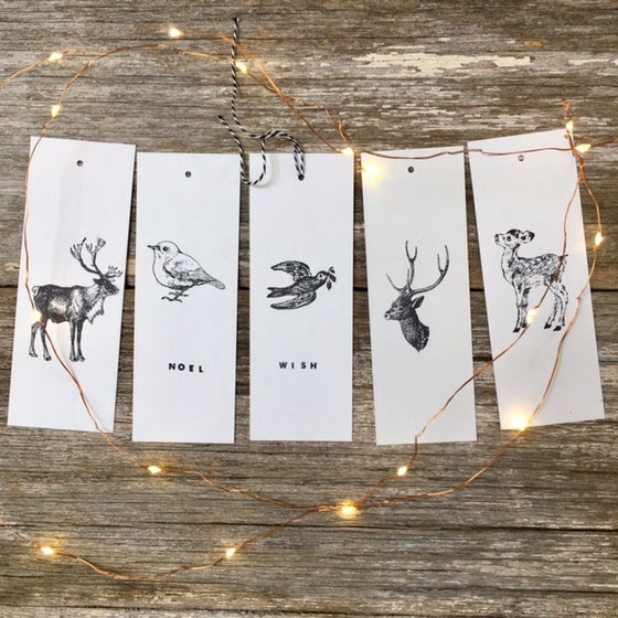 Image of Christmas Gift Tag Sets