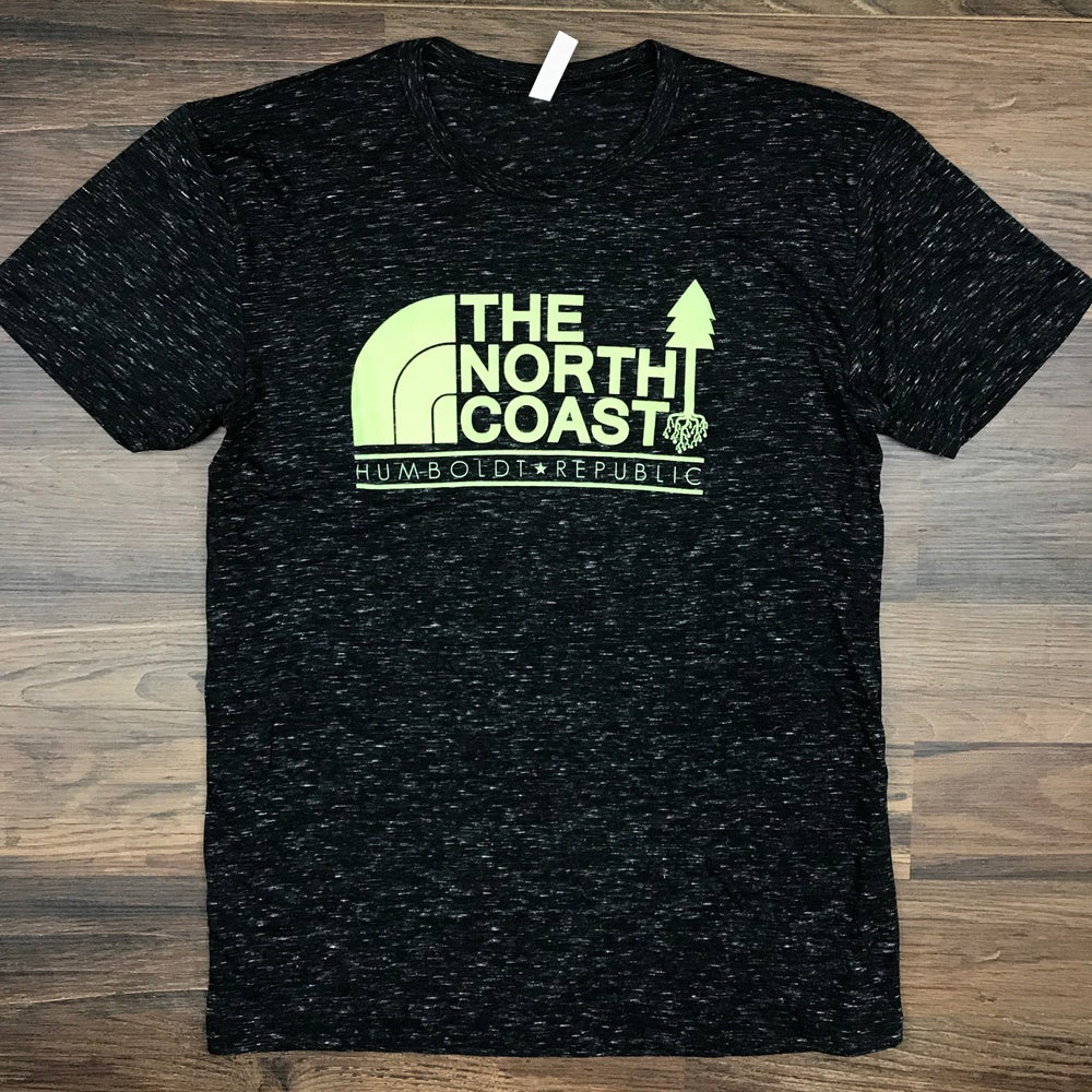"""Image of """"North Coast"""" Men's Fitted Tee"""