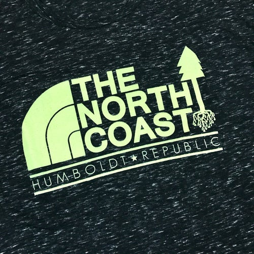 "Image of ""North Coast"" Men's Fitted Tee"