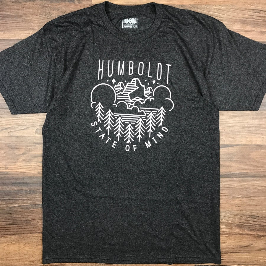"Image of ""Head North"" Men's Heavyweight Tee"