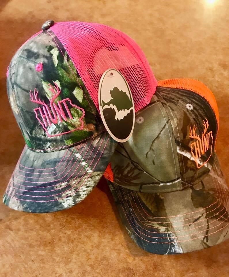 Image of Hunt Iowa Camo Caps