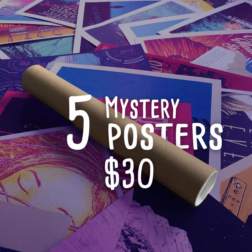 Image of RANDOM POSTER SALE
