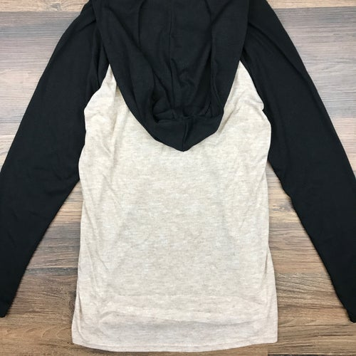 "Image of ""Origins"" Ladies Long Sleeve Hooded Top"