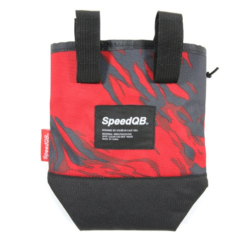 Image of Neutron Dump Pouch V2 - Red Tiger Stripe